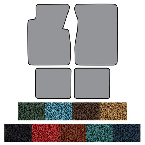 ACC Floor Mats, 1955-56 Chevy