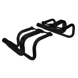 Small Block Chevy Classic T-Bucket Headers, Black Painted