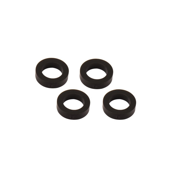 Fastener Specialties SP-SHOCK-08N-4PK Black Plastic Shock Spacers