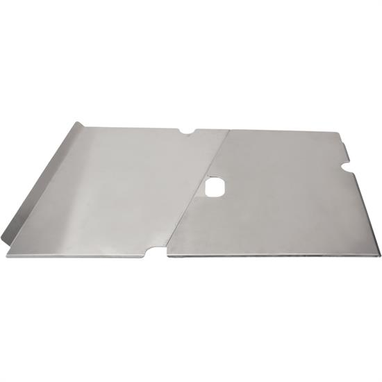 "2 Piece Aluminum Side Panel For 1"" Raised Rail Cars, Plain Finish"