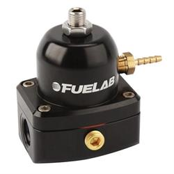 Fuelab 51504-1 Carbureted Fuel Pressure Regulator, 4-12 PSI