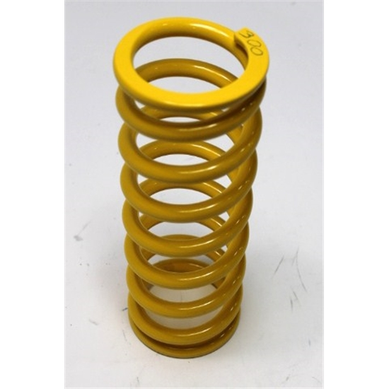 Garage Sale - AFCO Yellow 2-5/8 I.D. Coil-Over Spring, 10 Inch, 300 Rate