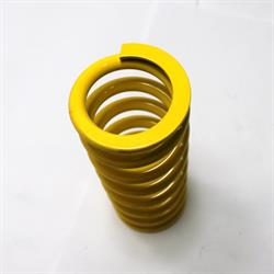 Garage Sale - AFCO Yellow 2-5/8 I.D. Coil-Over Spring, 10 Inch, 500 Rate
