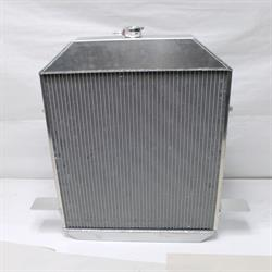 Garage Sale - AFCO 80172-S-NA-N Aluminum Satin Radiator 1940 Ford Car Chevy Engine