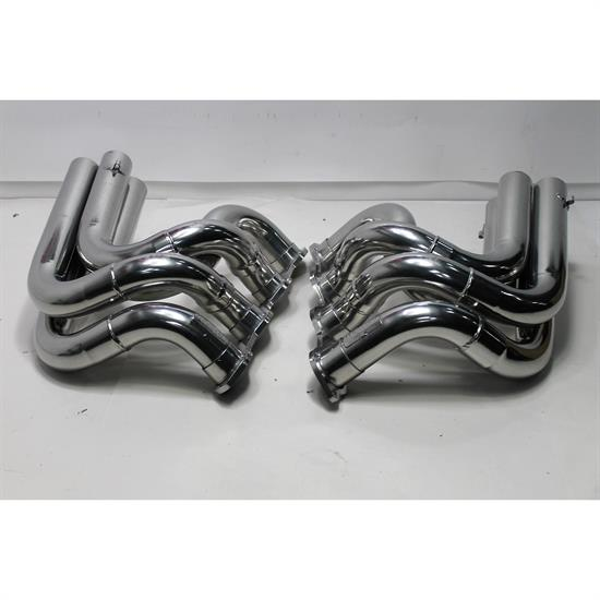 Garage Sale - Dynatech Big Block Chevy Strut Type Dragster headers, Coated, 2-3/8