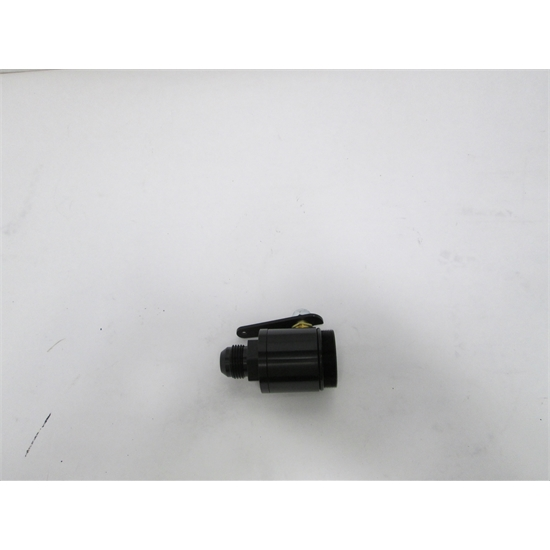 Garage Sale - MPD Racing 94-73800 BLACK Fuel Shut Off Valve for Fuel Filter, -12 AN