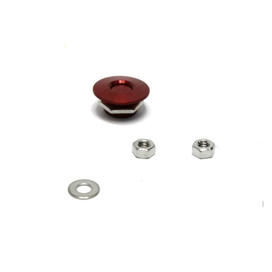 Garage Sale - Quik-Latch QL-25-RD Red Anodized Universal Quick Release Latch