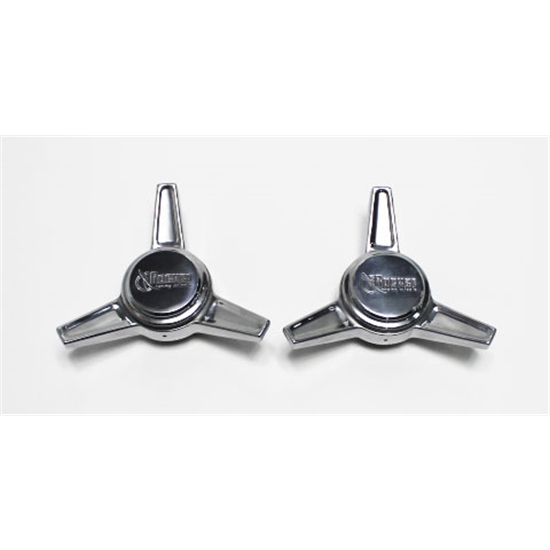 Garage Sale - Rocket Racing Wheels RS1-D102 Polished Deep Angle Spinners, Pair