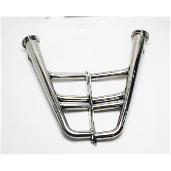 Garage Sale - Small Block Chevy Lake Style Headers, Polished Stainless