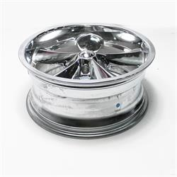 Garage Sale - Boyds Wheels BC1-886145C Junkyard Dog 18x8 Chrome Wheel, 5 on 4-3/4