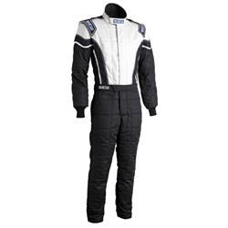 Garage Sale - Sparco Pro-Cup X2 Racing Suit Uniform, Large, Black/Gray