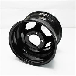 Garage Sale - Bassett 50LJ3L 15X10 Inertia 5 on 5.5 3 Inch BS Black Beadlock Wheel