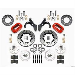 Garage Sale - Wilwood 140-12021-DR FDL Pro Series Front Disc Brake Kit, 65-68 Impala