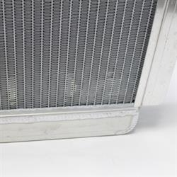 Garage Sale -  AFCO Direct Fit 1960-76 Mopar A, B, E-Body Radiator, 22X22 Inch, With Trans Cooler