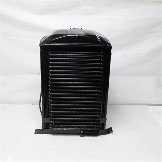 Garage Sale - Walker C-AC494-1 Cobra 1936 Ford Radiator w/ AC Condenser-Chevy Engine