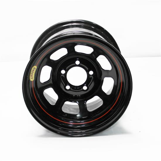 Garage Sale - Bassett 50SC55 15X10 D-Hole Lite 5on4.75 5.5 In Backspace Black Wheel