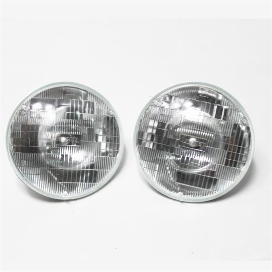 Garage Sale - Chrome Dietz Type Headlights, Halogen Bulb