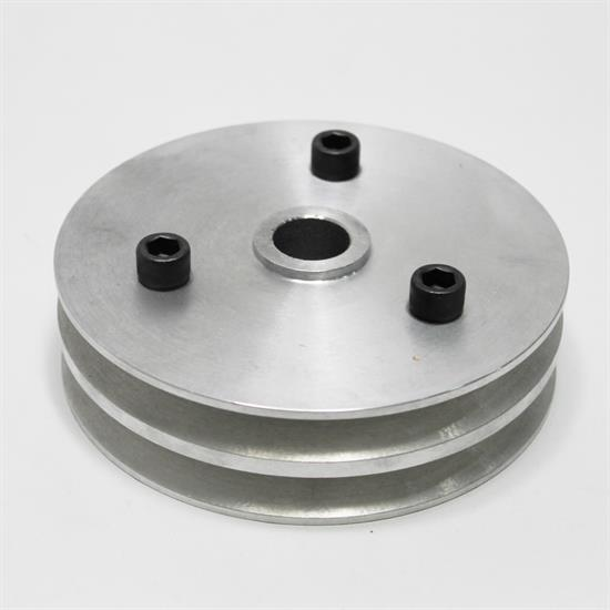 Garage Sale - Moroso 64060 Chevy Short Pump Double Groove Crank Pulley