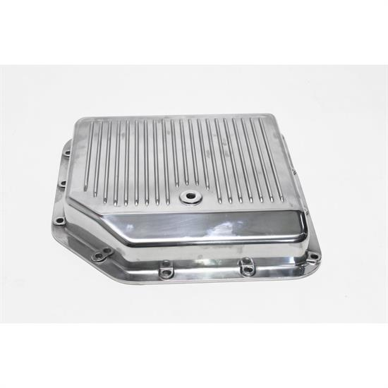 Mr tranny finned aluminum transmission pan