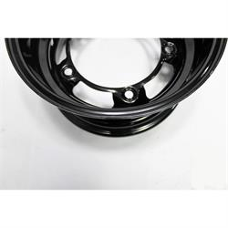 Garage Sale - Bassett 58SR45 15X8 Wide-5 4.5 Inch Backspace Black Wheel