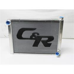 Garage Sale - C&R Radiators 802-26190 Chevy Aluminum Radiator, 19 x 26 Inch