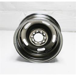 Garage Sale - Speedway GM Style 15 Inch Rally Wheel, 4.5 and 4.75 Inch Bolt Pattern, 15 x6