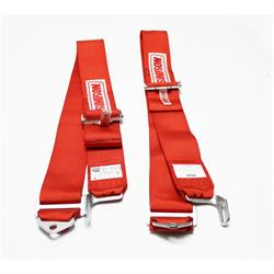 Garage Sale - Simpson Individual Shoulder Harnesses - Latch and Link, Red
