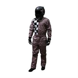Garage Sale - Finishline 2-Layer SFI-5 Fire Retardant Racing Suit, Black XXL