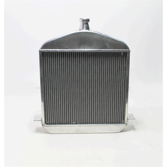 Garage Sale - Speedway 1917-1923 T-Bucket Polished Aluminum Radiator-Chevy Outlets