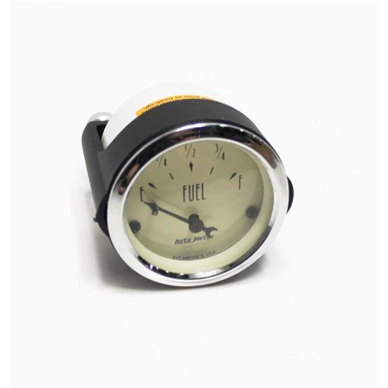 Garage Sale - Auto Meter 1817 Antique Beige Air-Core Fuel Level Gauge