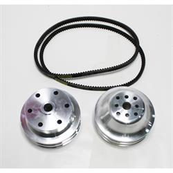 Garage Sale - Speedway 1:1 Pulley Combo for Small Block Chevy Long Water Pump