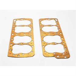 Garage Sale - Best Gasket 536C-P 1949-53 Flathead Big Bore Head Gaskets, Copper