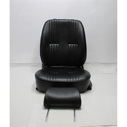 Garage Sale - Scat Procar Pro-90 Series 1300 Vintage Bucket Seat-Pass. Side-Black