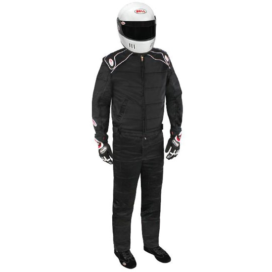 Garage Sale - Bell Endurance II Racing Suit-One Piece-Double Layer, Black, Small