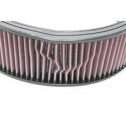 Garage Sale - K&N E-3750 Lifetime Performance Air Filter, 4in Tall, Round