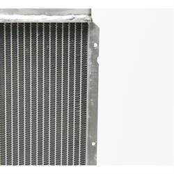 Garage Sale - Universal Aluminum Radiator - 27 Inch Tall, Passenger Side Outlet