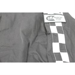 Garage Sale - Finishline Qualifier Racing Suit One Piece Single Layer SFI-1, Black, X-Large