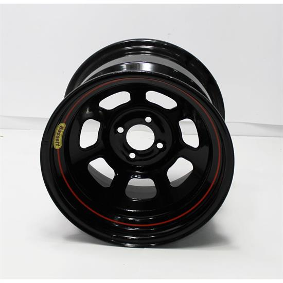 Garage Sale - Bassett 50SH5 15 X 10 D-Hole Lightweight Wheel, 4 on 100 MM, 5 Inch