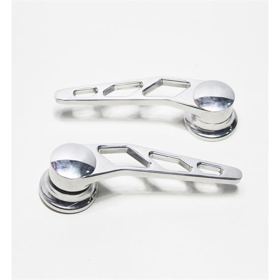 Garage Sale - Lokar IDH-2007 Polished Billet Alum Door Handles, GM Pre-1949, Pair