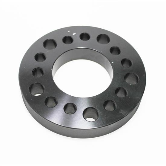 Garage Sale - Aluminum Wheel Spacer, 1 Inch Thick, Black Anodized
