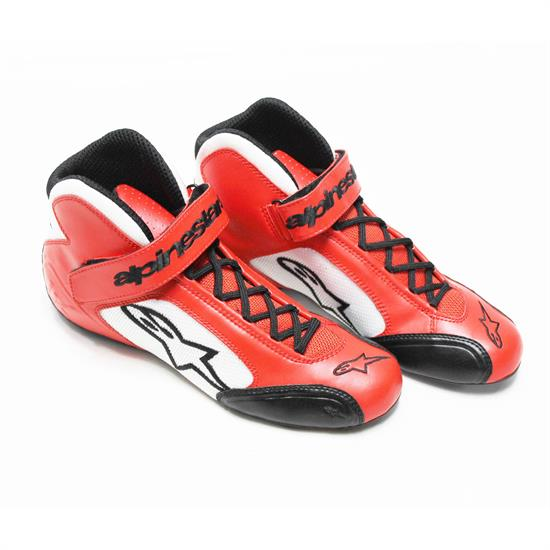 Garage Sale - Alpinestars Tech 1-K Shoes, Red/White. Size 8.5