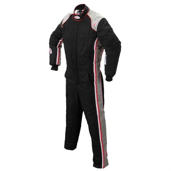 Garage Sale - Garage Sale - Bell Formula SFI 3.2A/5 1-Piece Racing Suits, Black, XXL