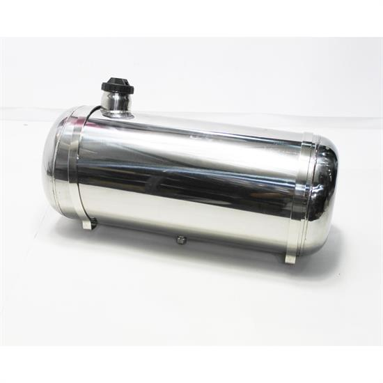 Garage Sale - EMPI 3896 Pol. Stainless Steel Fuel Tank, 10x24 In., End Fill, 7.5 Gal