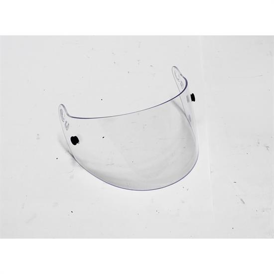 Garage Sale - Omega Replacement Helmet Shield for Bell M2, Clear