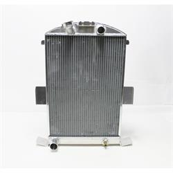 Garage Sale - AFCO 1935 Ford Aluminum Radiator, Ford Engine, Satin Finish