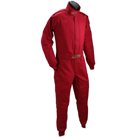 Garage Sale - Speedway Economy One-Piece Racing Suit, One-Layer, SFI-1 Rated, Size XL