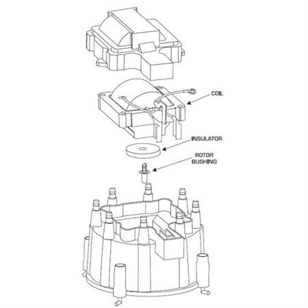 GM HEI Ignition Distributor Wiring Diagrams and Guide Accel Points Distributor Wiring Diagram on
