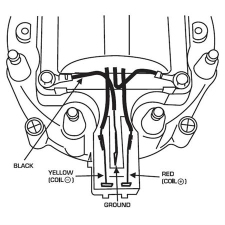 gm hei ignition MSD 6A Wiring Diagram Chevy hei diagram