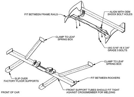 G-Comp Rear Suspension 62-67 Nova