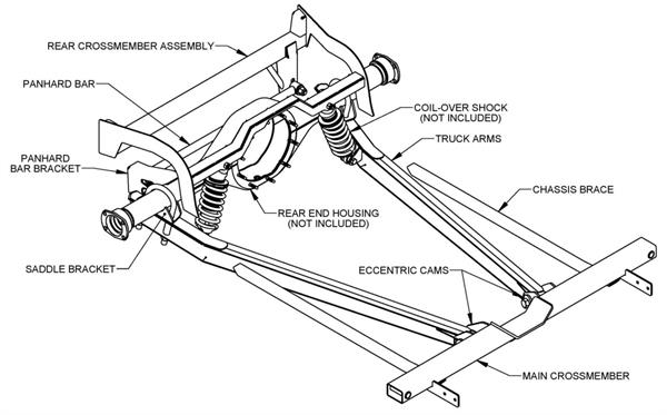 94 camaro rear suspension diagram